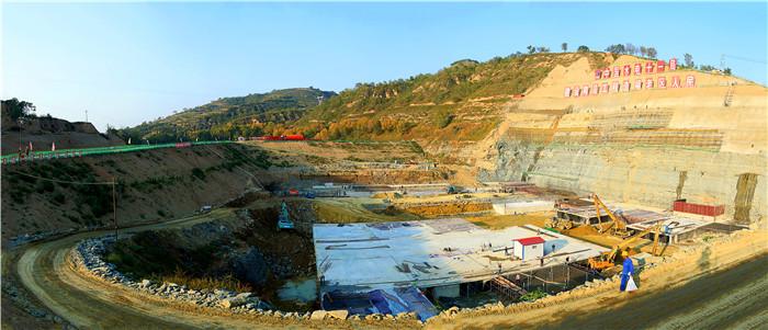 庆阳小盘河水库及供水工程建设进展迅速