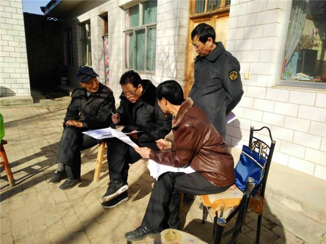 宁县食药监局在帮扶村深入开展 走访慰问暖民心活动
