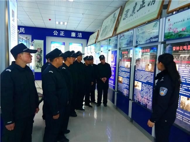宁县公安局对新分配辅警进行廉政警示教育  敲响廉政警钟