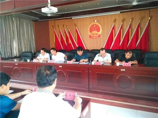 县委第四巡察组在和盛镇开展巡察工作