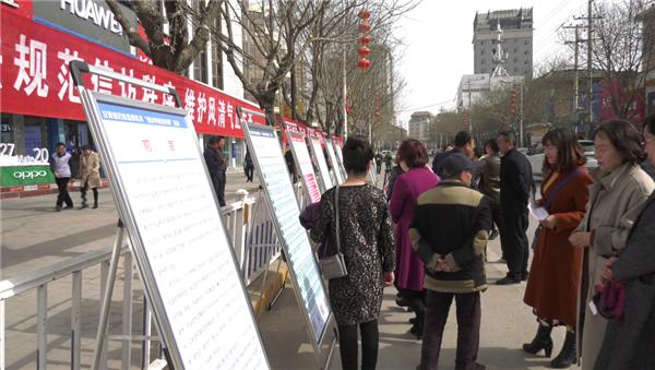 宁县纪委监委设点宣传现场接访接地气